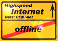 Weg ins Internet